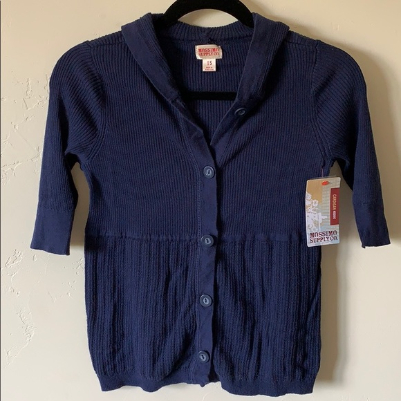 Mossimo Supply Co. Sweaters - Mossimo Navy Blue Cardigan